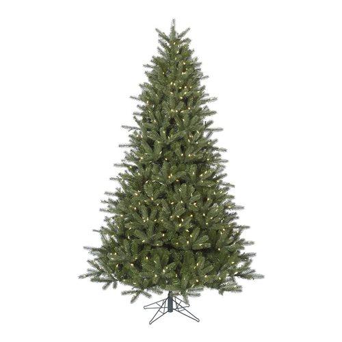 Vickerman 7.5-ft Pre-lit Kennedy Fir Artificial Christmas ...
