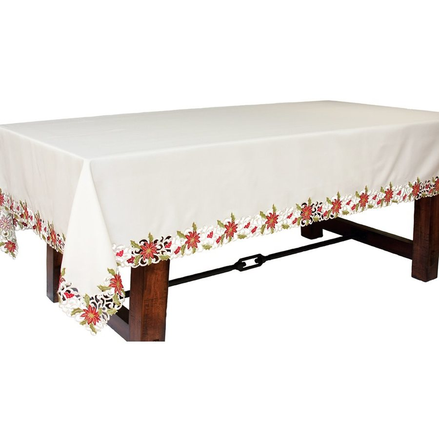 XIA Home Fashions Poinsettia Tea Towel