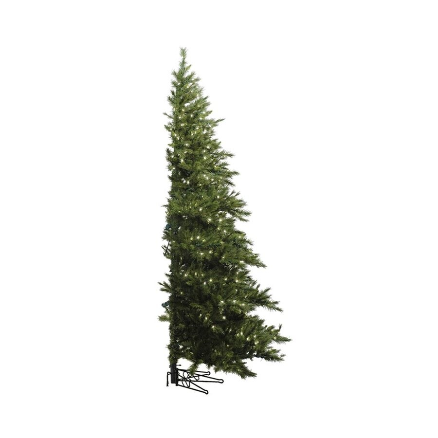 Vickerman 6.5-ft Pre-lit Artificial Christmas Tree with 400 Clear White Incandescent Lights