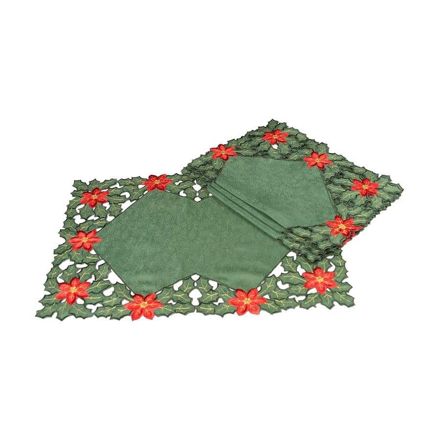 XIA Home Fashions Poinsettia Placemat