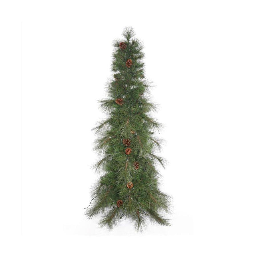 Vickerman 7.5-ft Slim Artificial Christmas Tree