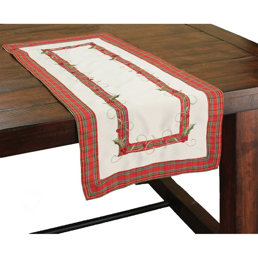 XIA Home Fashions Berry Table Runner