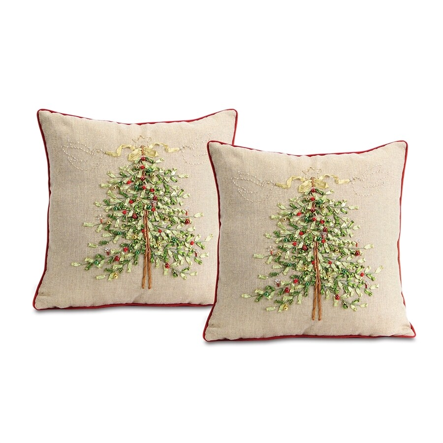 Melrose International Tree Pillow