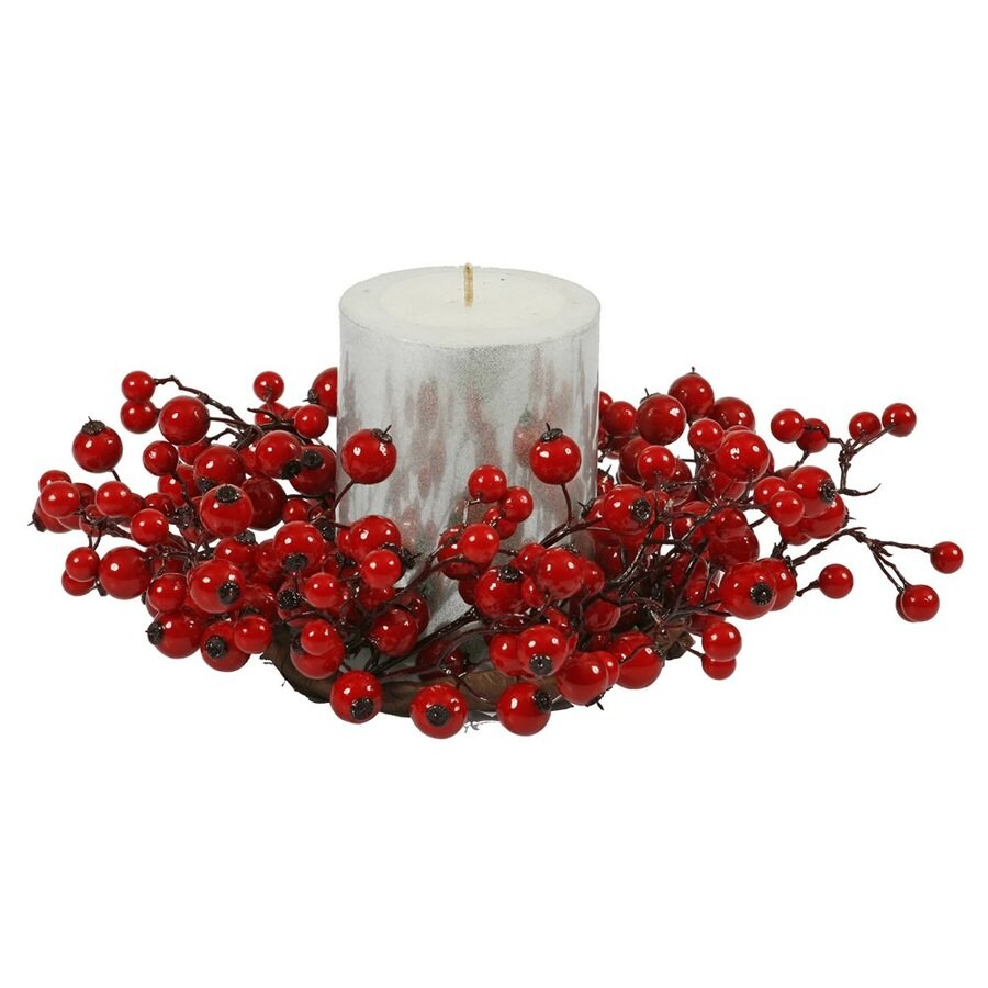 Vickerman Berry Candle Holder
