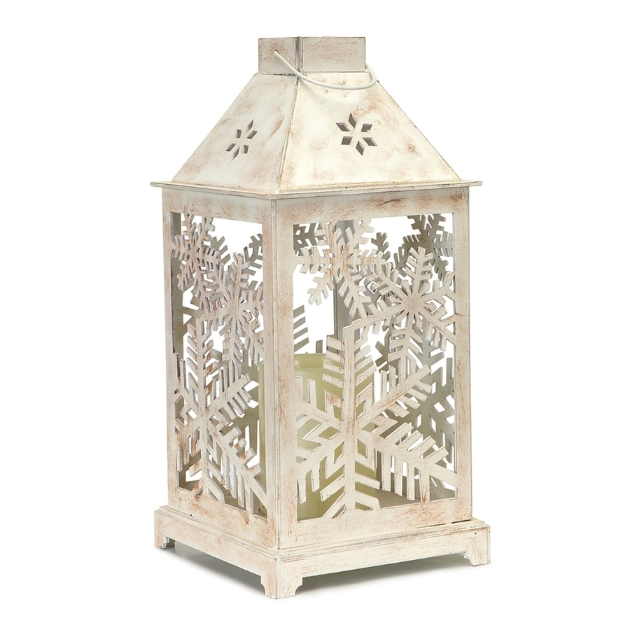Melrose International Pre-Lit Lantern Candle Holder LED Lights