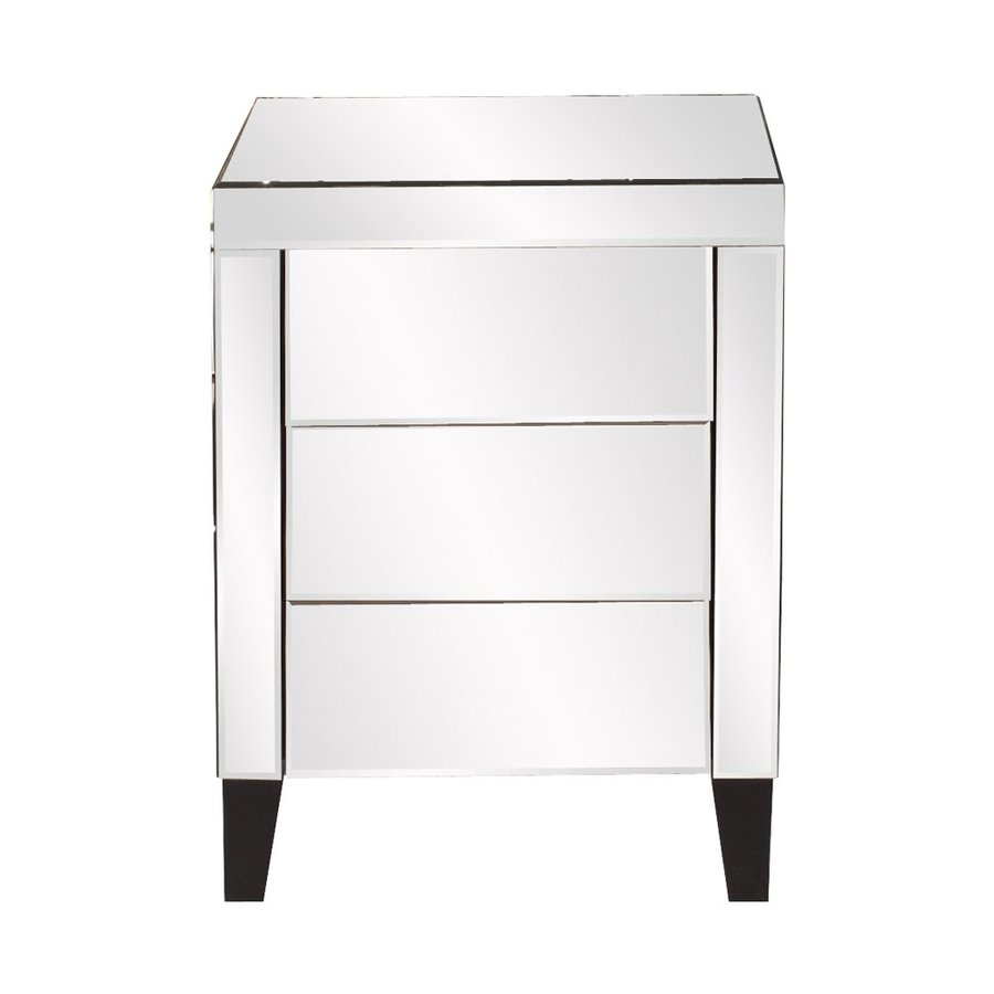 Tyler Dillon Mirrored 3-Drawer Accent Chest