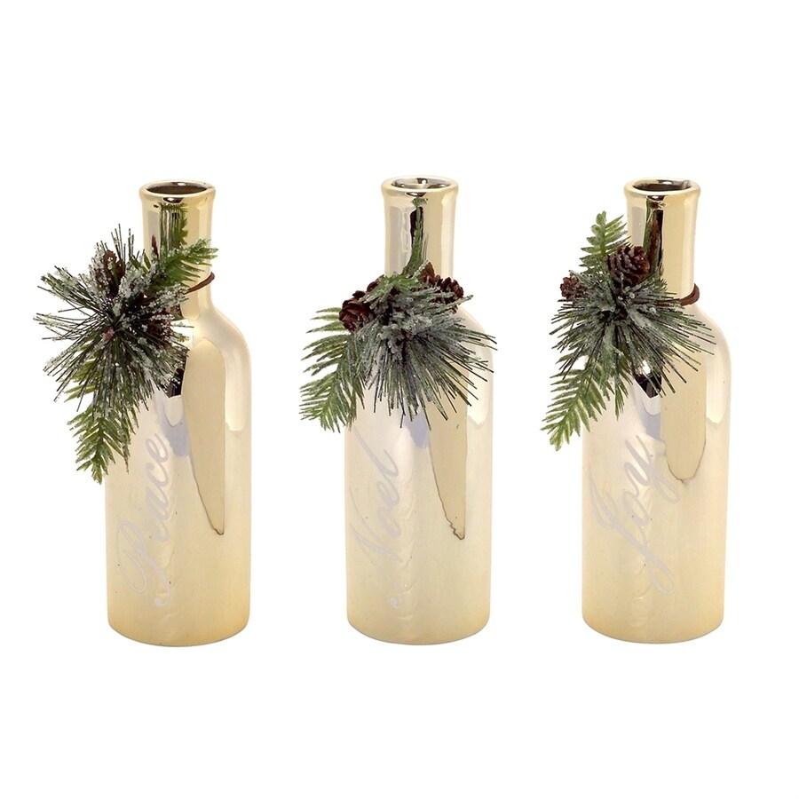 Melrose International Pinecone Vase