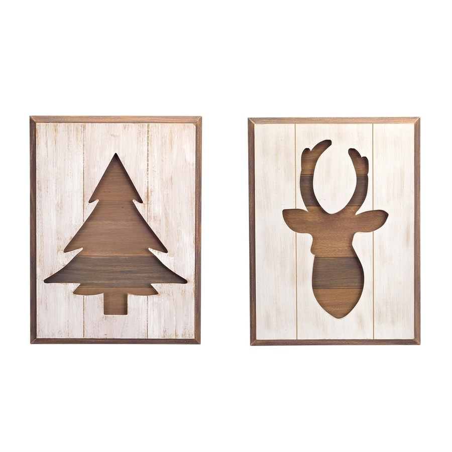 Melrose International Deer Wall Art
