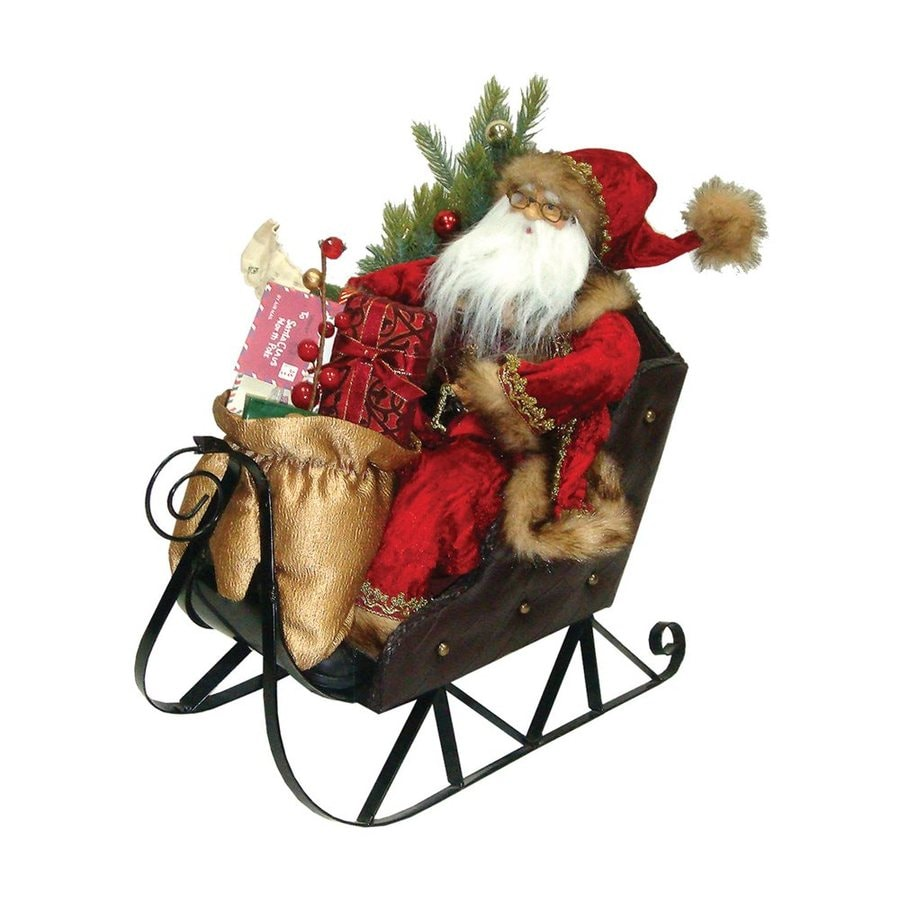 Santa's Workshop Santa in his Sleigh Figurine