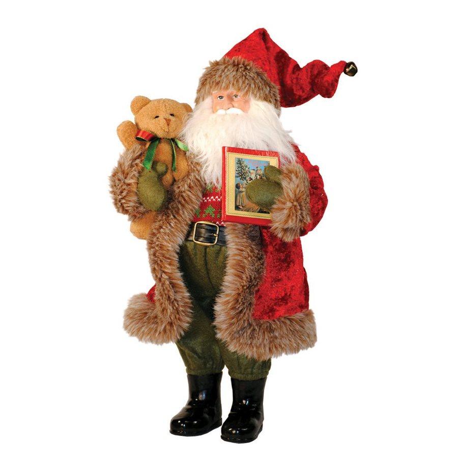 Santa's Workshop Story Time Santa Figurine