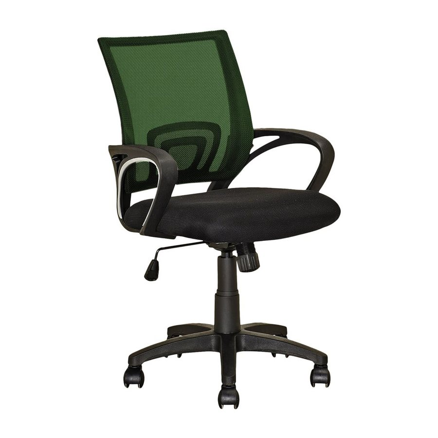 CorLiving Workspace Forest Green/Black Contemporary Desk Chair