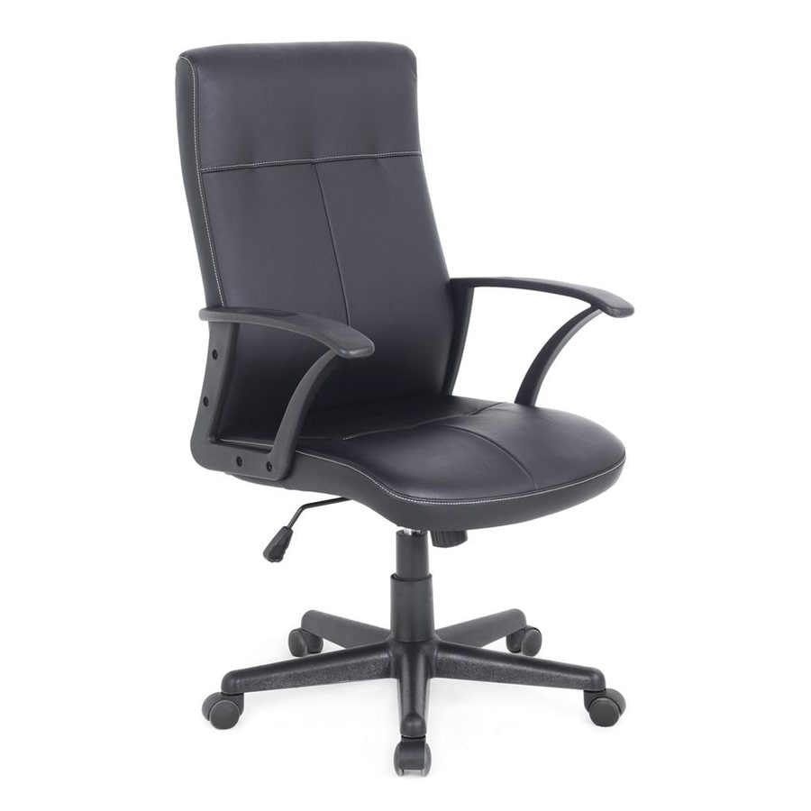 CorLiving Black Contemporary Desk Chair