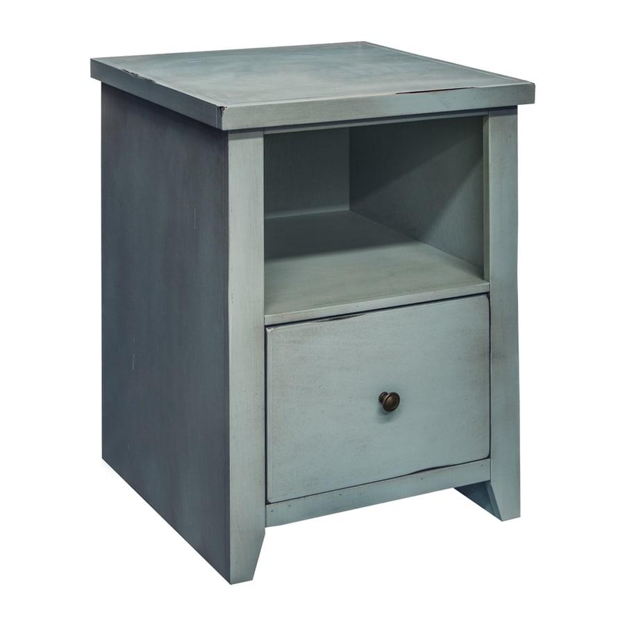 Legends Furniture Calistoga Blue 1-Drawer File Cabinet