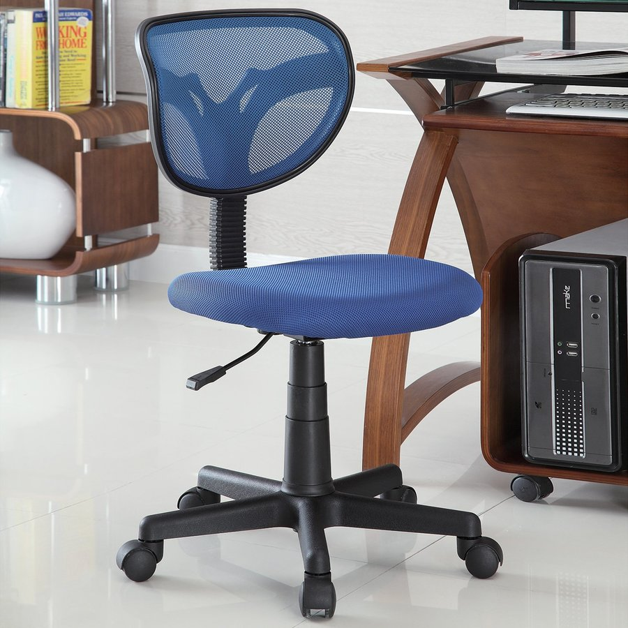 Coaster Fine Furniture Blue Transitional Task Chair