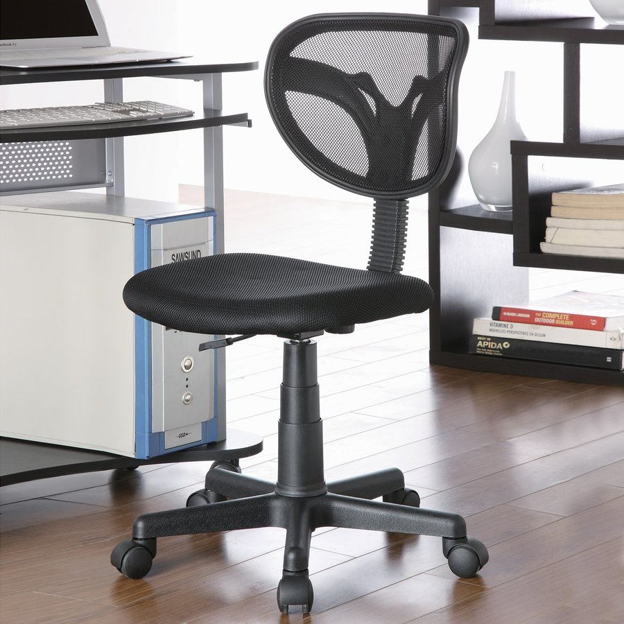 Coaster Fine Furniture Black Transitional Task Chair