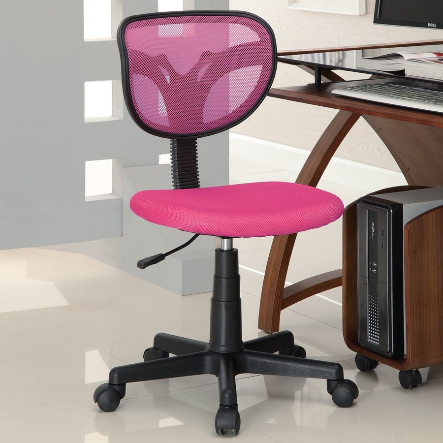 Coaster Fine Furniture Hot Pink Transitional Task Chair