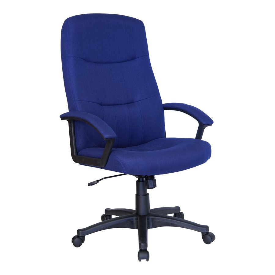 Flash Furniture Navy Blue Transitional Executive Chair