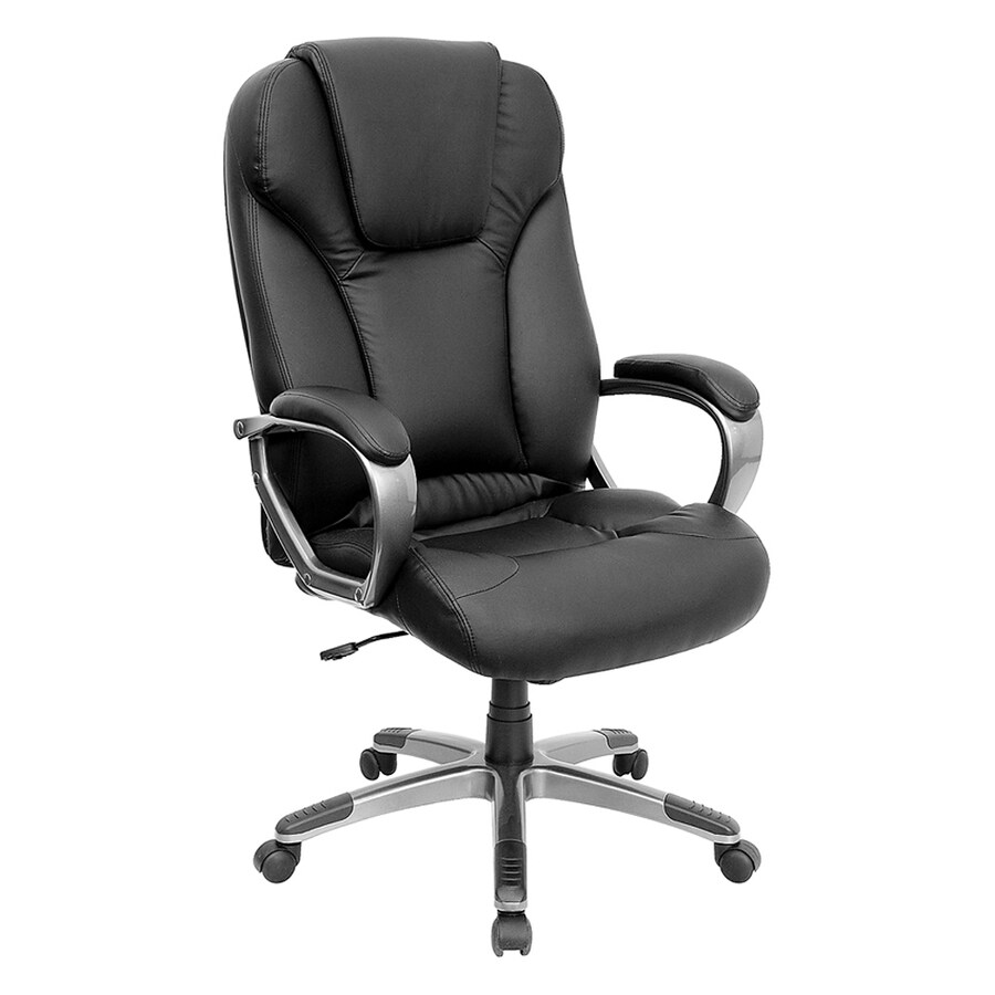 Flash Furniture Black Transitional Executive Chair