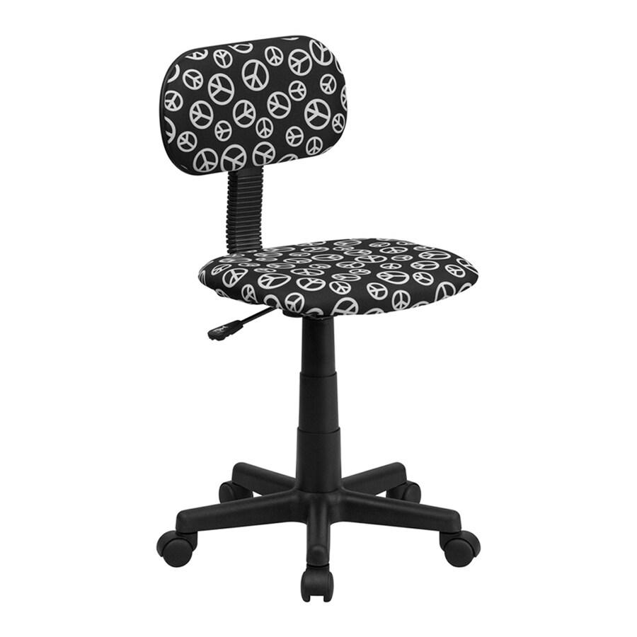 Flash Furniture Black Contemporary Task Chair