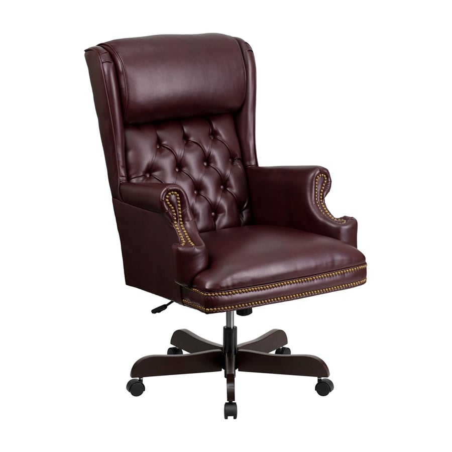 Flash Furniture Burgundy Traditional Executive Chair