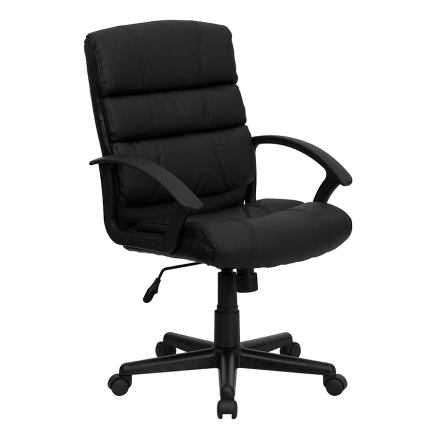 Flash Furniture Black Transitional Manager Chair