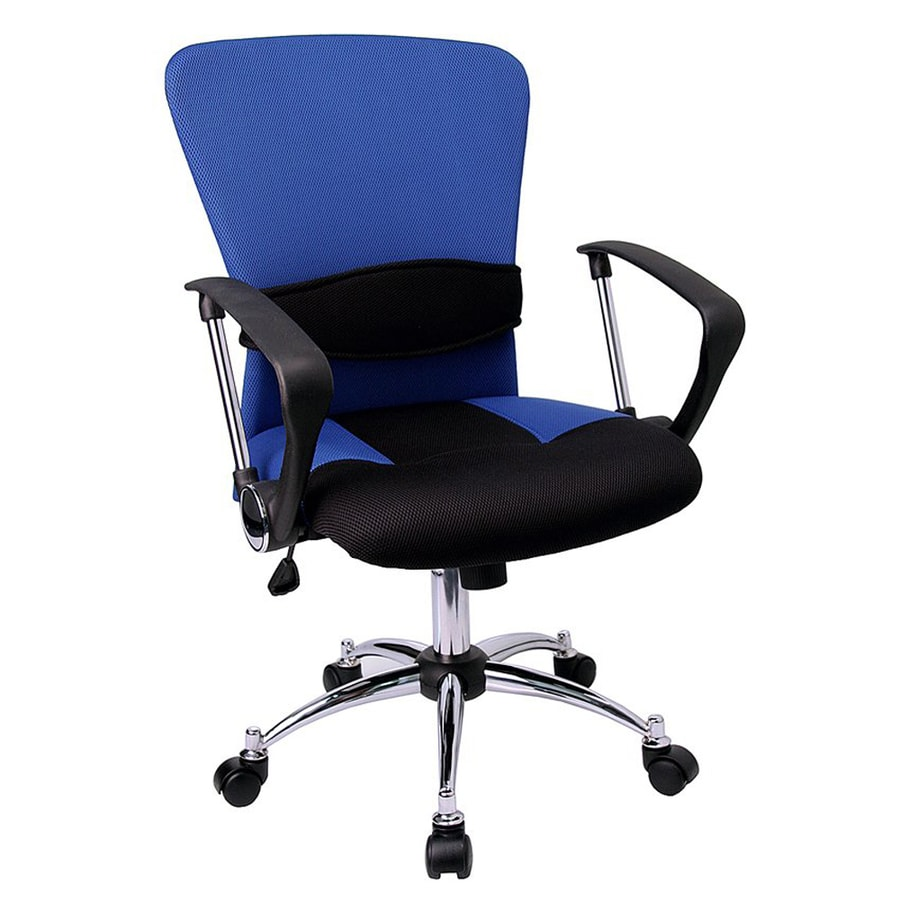 Flash Furniture Blue Contemporary Desk Chair