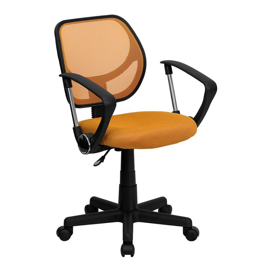 Flash Furniture Orange Contemporary Task Chair
