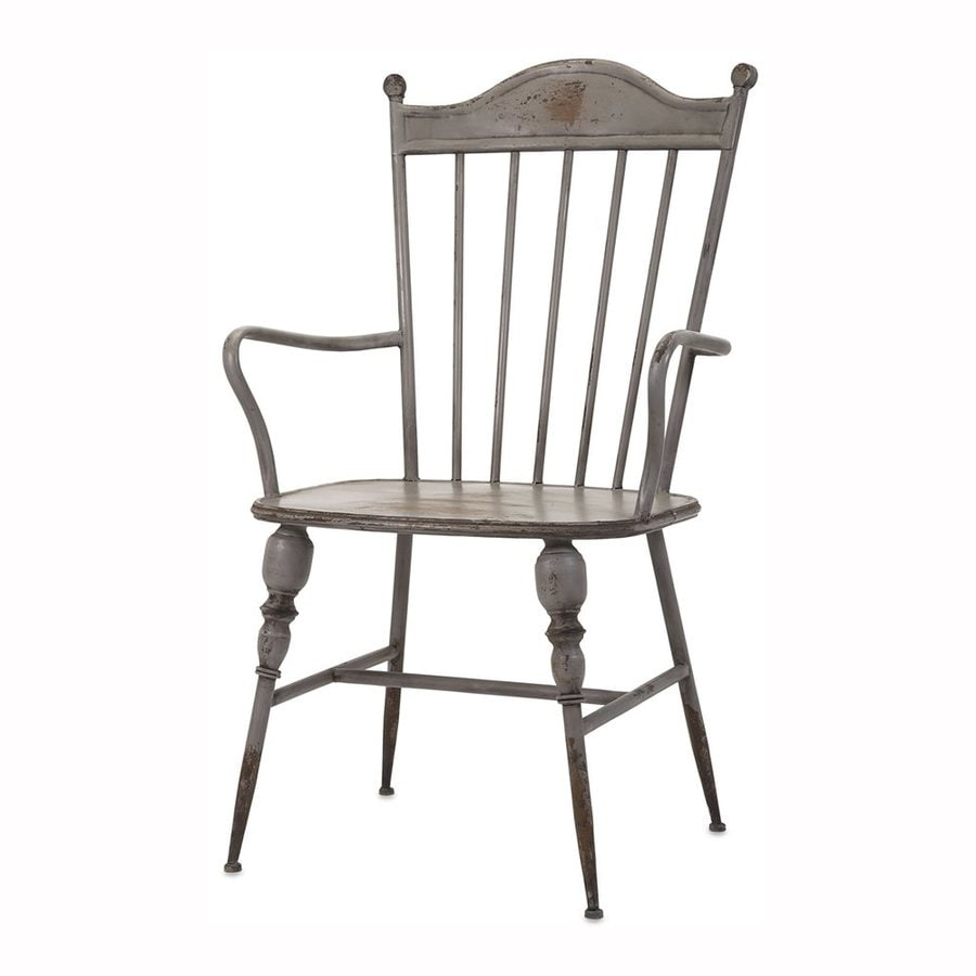 Imax Worldwide Chatham Traditional Gray Arm Chair