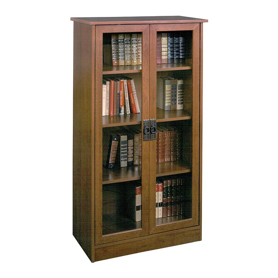 Ameriwood Home Inspire Cherry 4-Shelf Bookcase