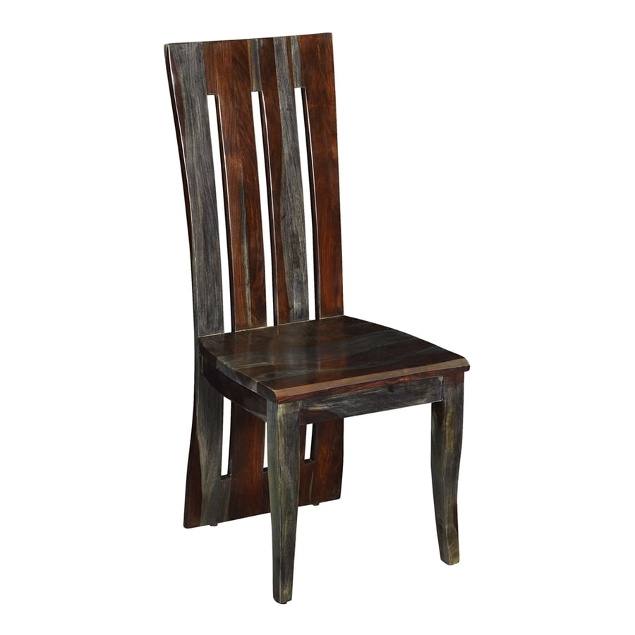 Coast to Coast Set of 2 Grayson Contemporary Grayson grey wash Side Chair