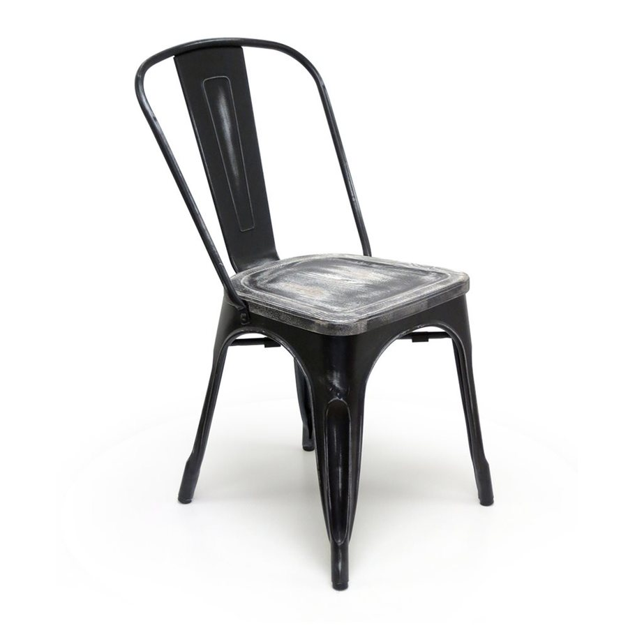 AEON Furniture Set of 2 Garvin Contemporary Wood Side Chair