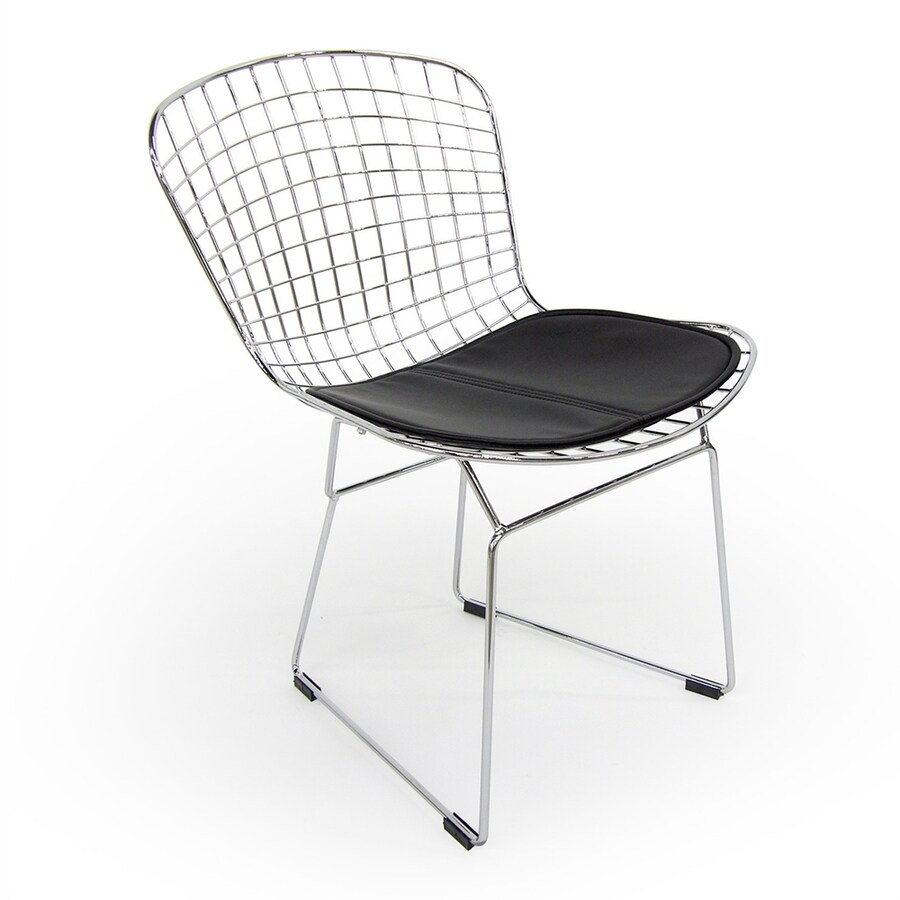 AEON Furniture Set of 4 Wendy Contemporary Black Side Chair