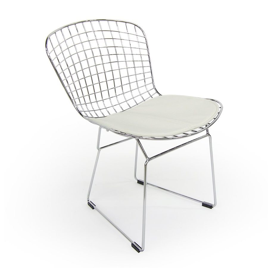 AEON Furniture Set of 4 Wendy Contemporary White Side Chair