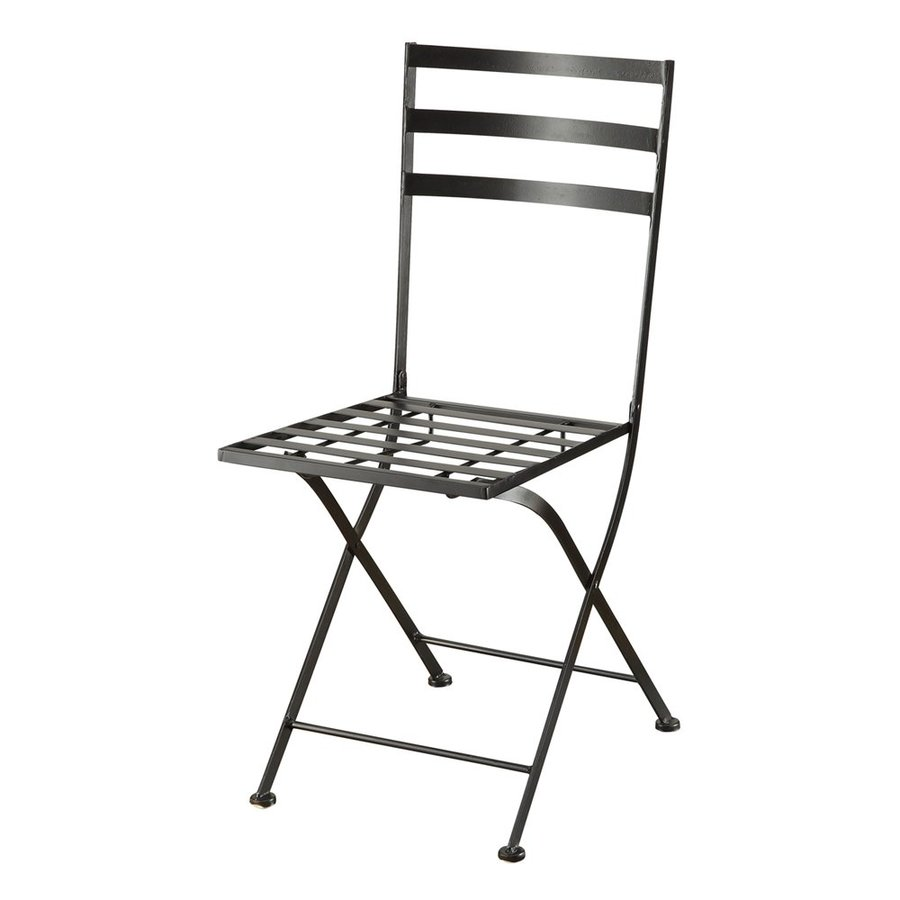 4D Concepts Set of 2 Contemporary Black Side Chair