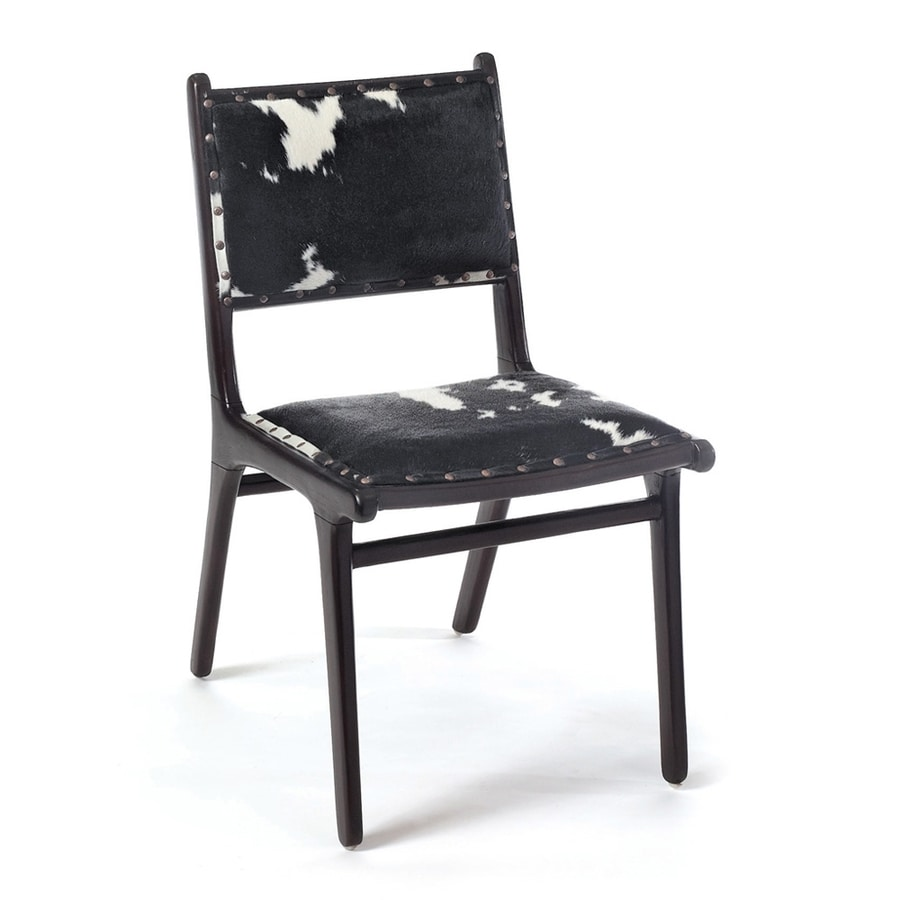 GO Home Roxy Cowhide Side Chair