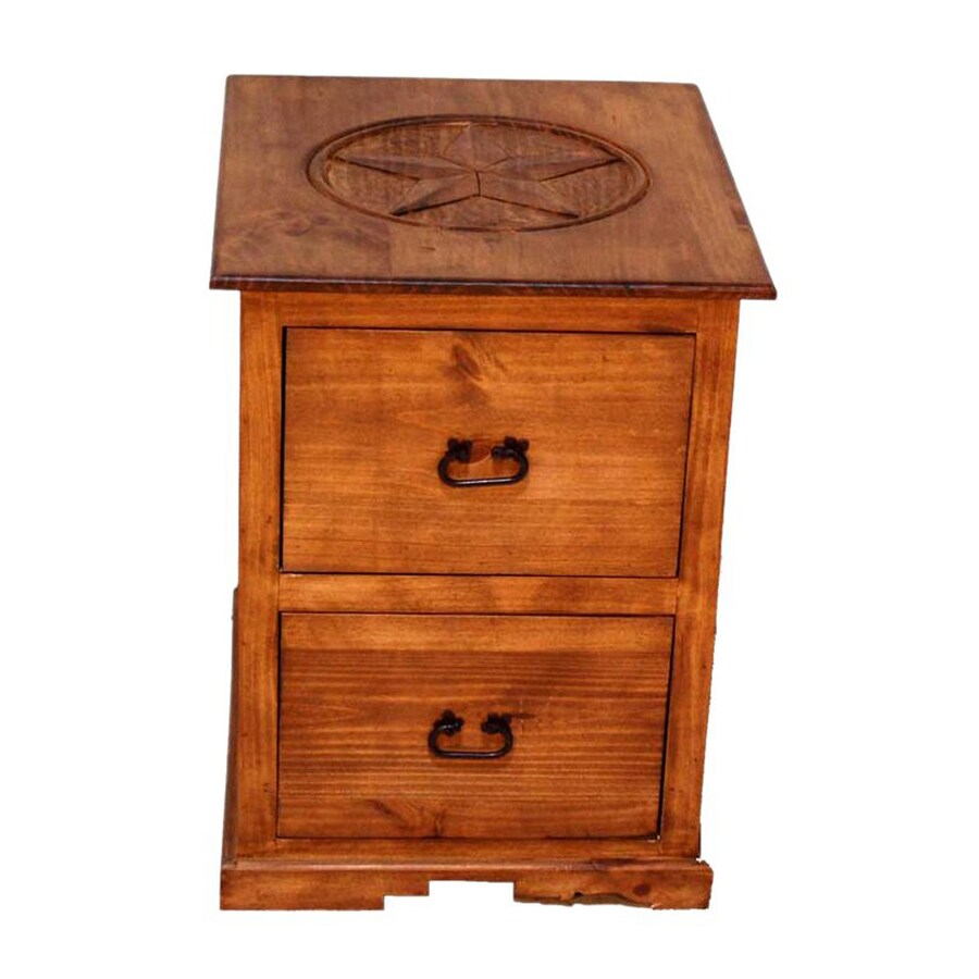 Million Dollar Rustic Rustic 2-Drawer File Cabinet