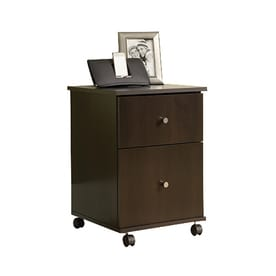 sauder cinnamon cherry 2drawer file cabinet