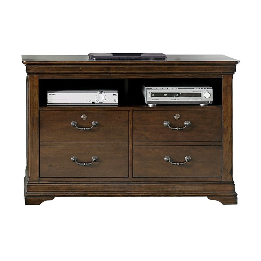 Liberty Furniture Chateau Valley Brown Cherry 4-Drawer File Cabinet