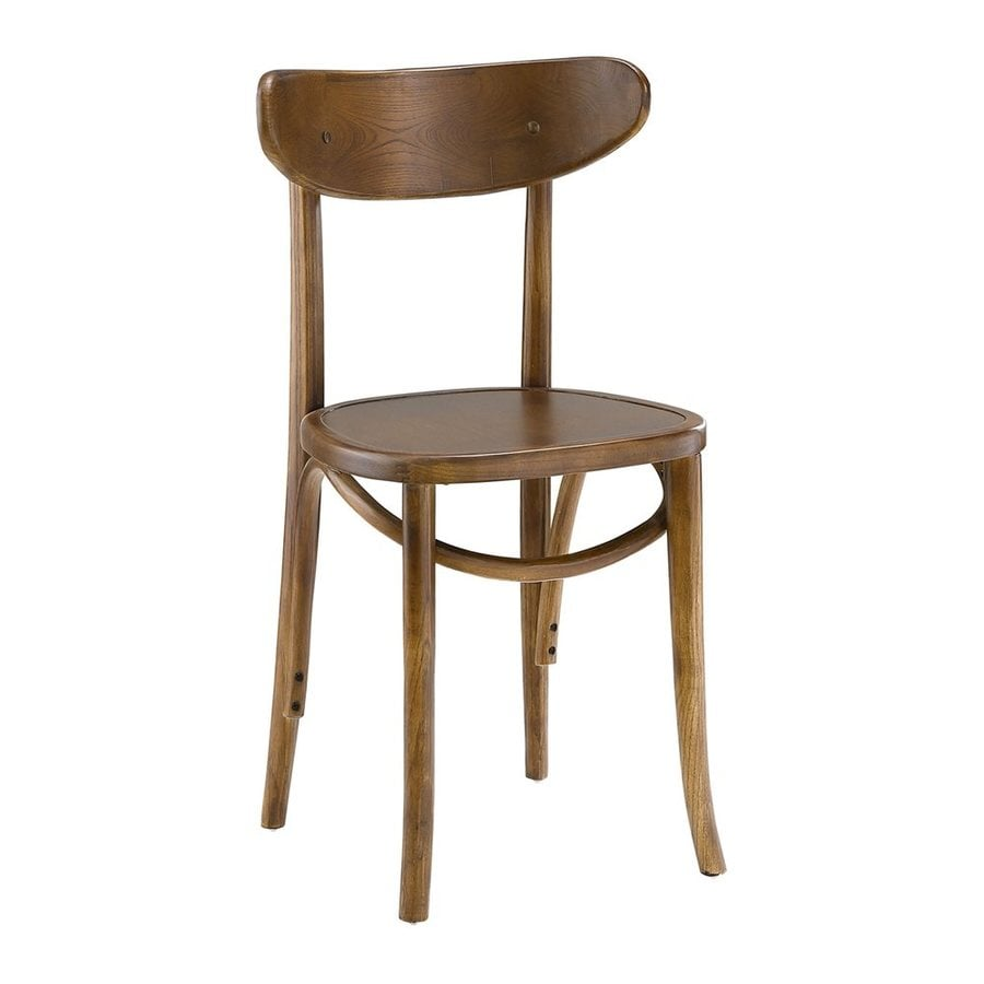 Modway Skate Contemporary Walnut Side Chair