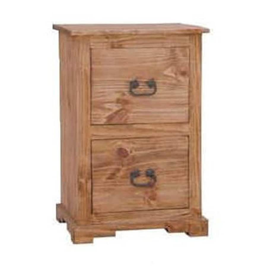 Million Dollar Rustic Rustic 2-Drawer File Cabinet