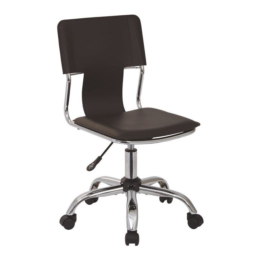 Office Star Ave Six Espresso Contemporary Task Chair