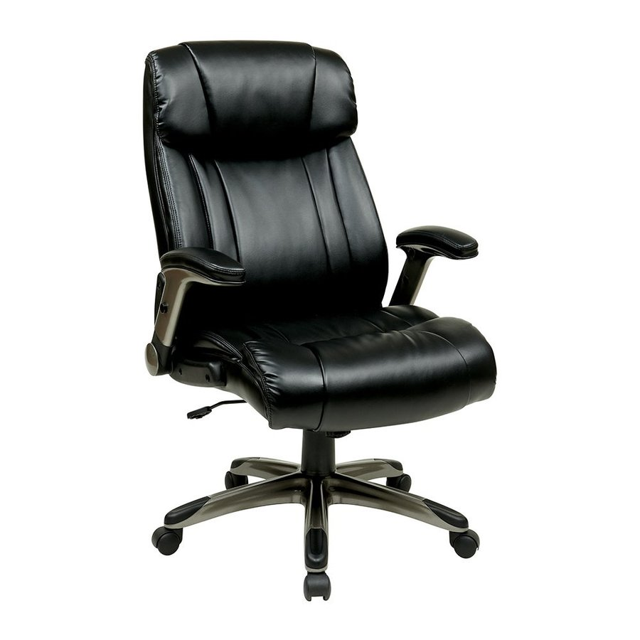 Office Star Work Smart ECH Espresso Transitional Manager Chair