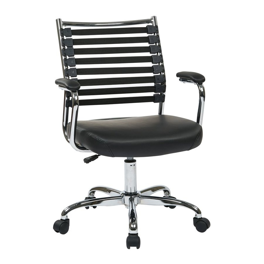 Office Star Ave Six Black Contemporary Task Chair