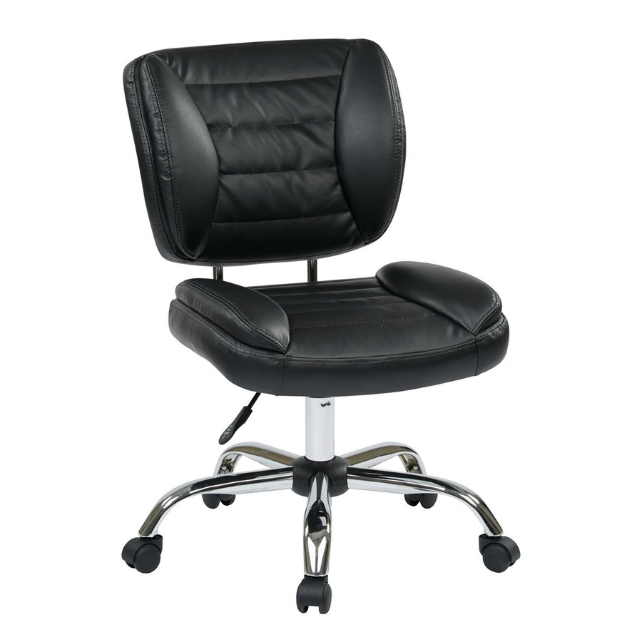 Office Star Work Smart ST Black Contemporary Task Chair