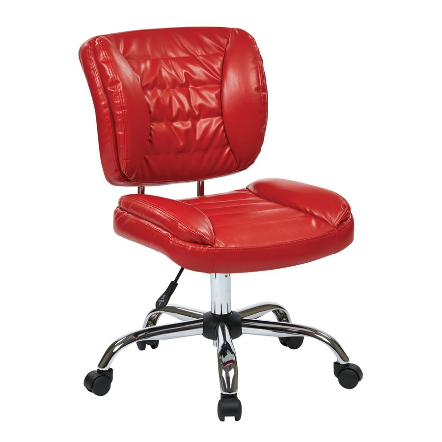 Office Star Work Smart ST Red Contemporary Task Chair