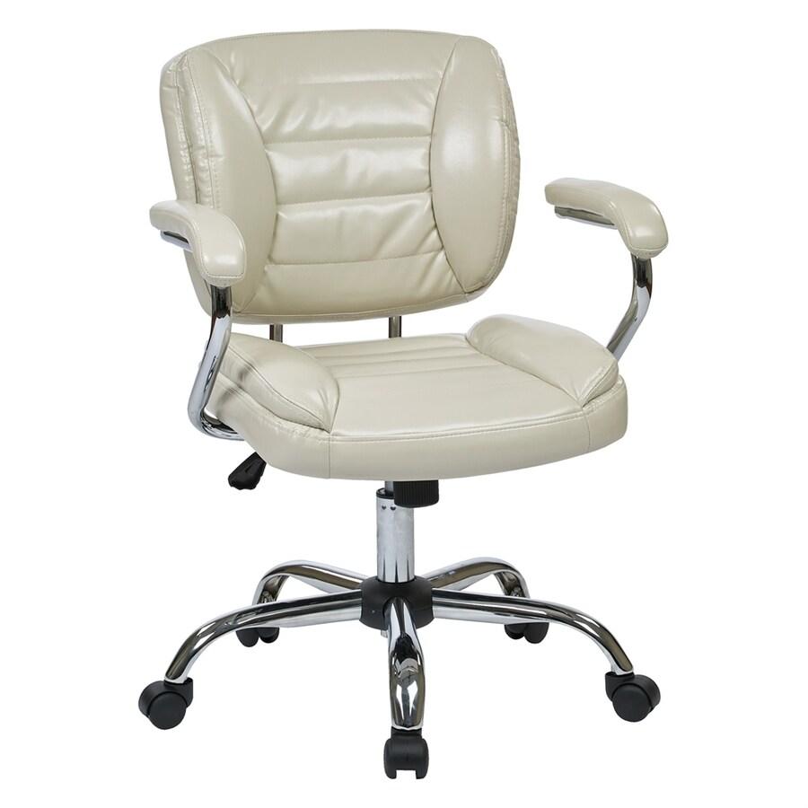 Office Star Work Smart ST Cream Contemporary Task Chair