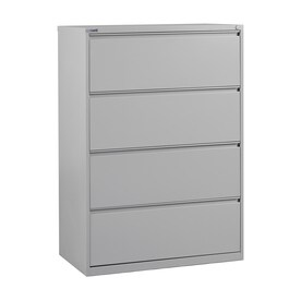 white office cabinet with doors. Office Star OSP Furniture Light Grey 4-Drawer File Cabinet White With Doors E