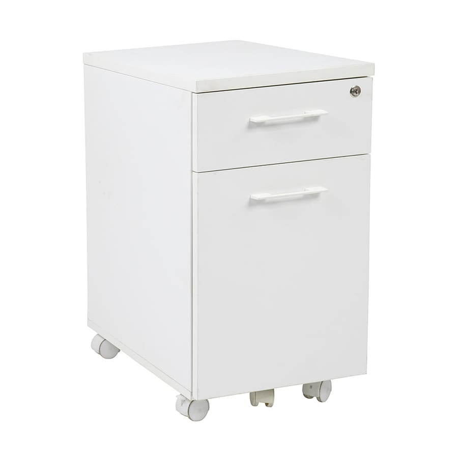 Office Star Pro-Line II White 3-Drawer File Cabinet