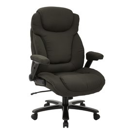 Office Star Pro Line II Charcoal Transitional Executive Chair