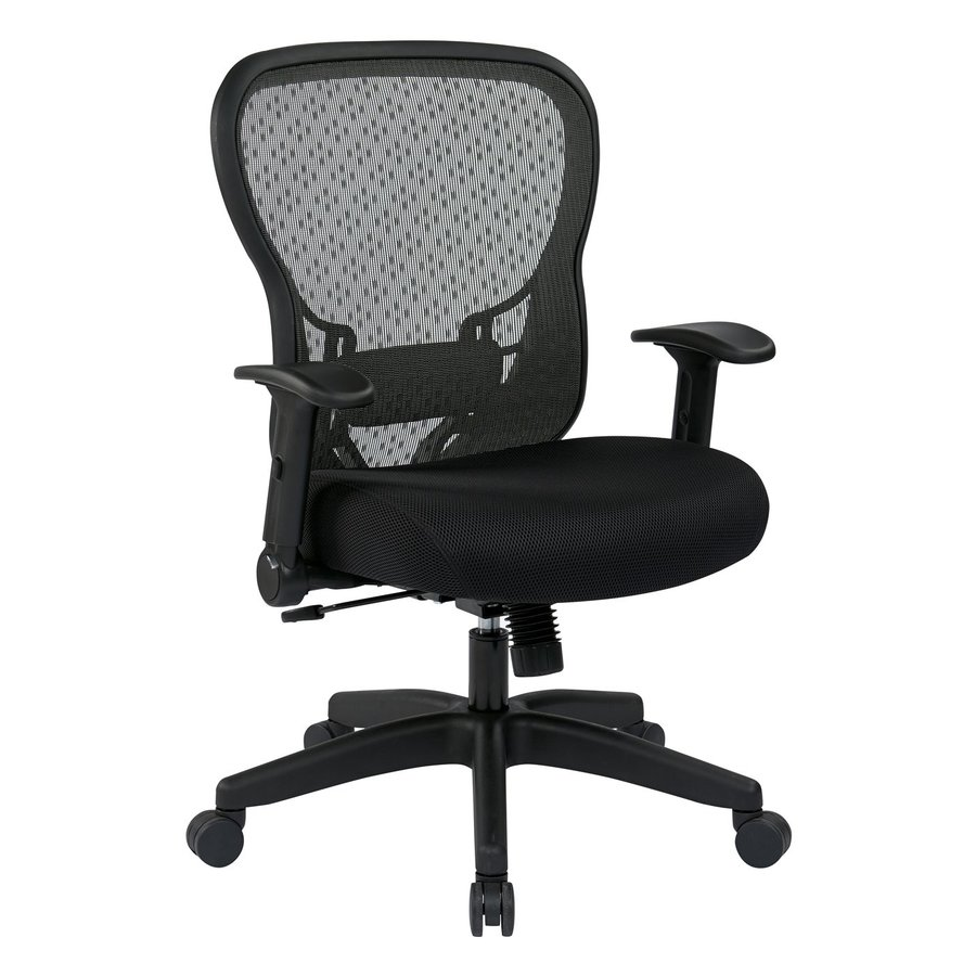 Attractive Office Star Space Seating 529 Black Contemporary Desk Chair